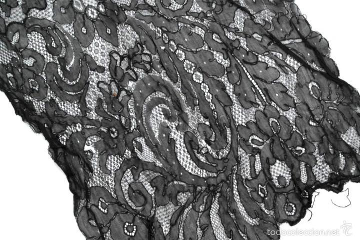 Antigüedades: Antigua mantilla de toalla - Foto 4 - 58581543