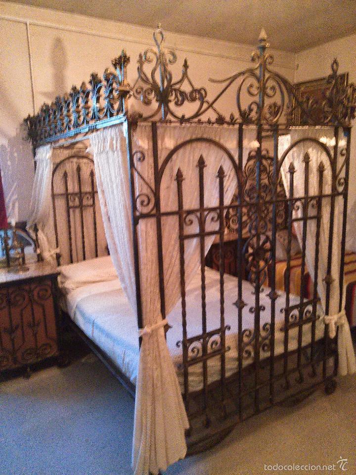 Forja habitacion de matrimonio todo el mobil comprar - Rejas de forja antiguas ...
