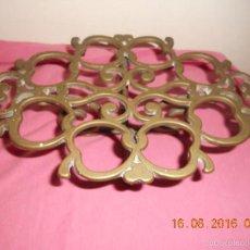 Antigüedades: ANTIGUO SALVAMANTELES DE BROCE. Lote 58585929
