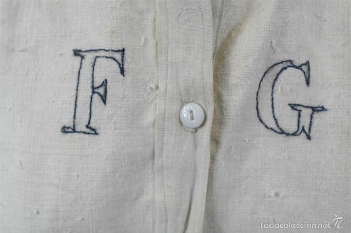 Antigüedades: Camisa de cáñamo - Foto 2 - 58597986