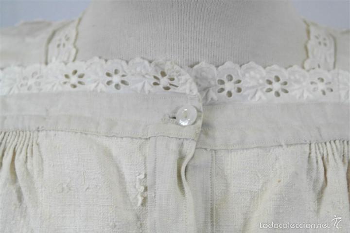 Antigüedades: Camisa de cáñamo - Foto 3 - 58597986