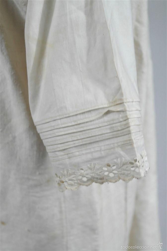 Antigüedades: Camisa de cáñamo - Foto 4 - 58597986