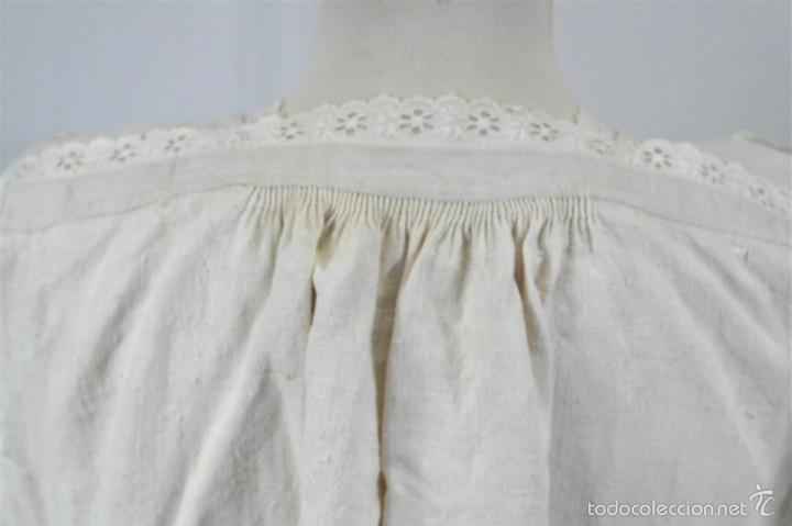 Antigüedades: Camisa de cáñamo - Foto 5 - 58597986