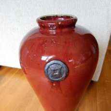 Antigüedades: ANTIGUO JARRON CHINO. SANGRE DE BUEY O SANG DE BOEUF. Lote 58599472