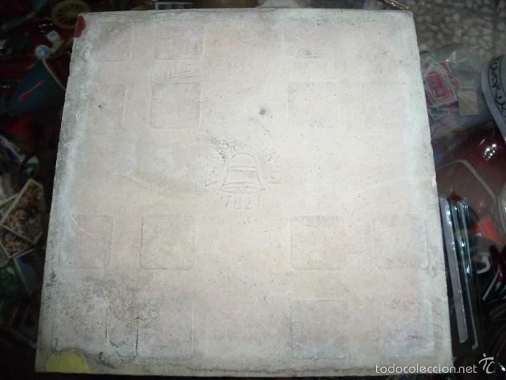 Antigüedades: AZULEJO CON ESCUDO DE UBEDA - Foto 2 - 58619894