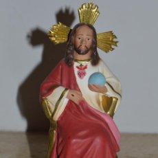 Antigüedades: IMAGEN DE CRISTO REY. Lote 55071967