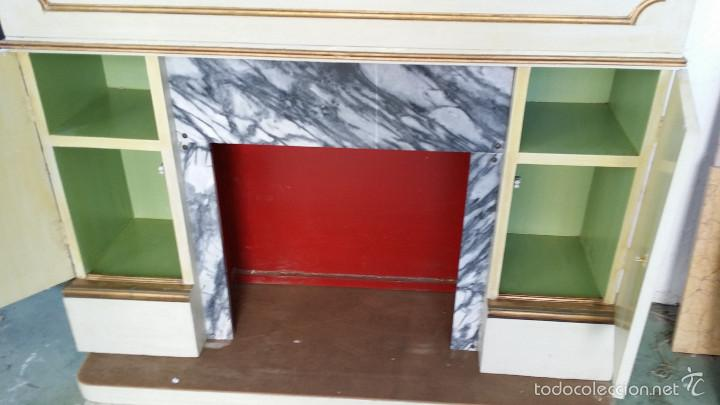 Antigüedades: mueble imitacion a chimenea - Foto 6 - 58633475