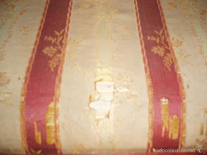 Antigüedades: BUTACA-SILLON. CONJUNTO 4 ANTIGUAS BUTACAS-SILLONES, ISABELINAS-FERNADINAS. CON MARQUETERIA DE BOJ. - Foto 6 - 58635511