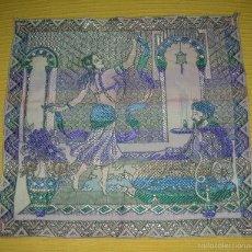 Antigüedades: ANTIGUO TAPIZ CON ESCENA ARABESCA, SIGLO XIX. Lote 58649703