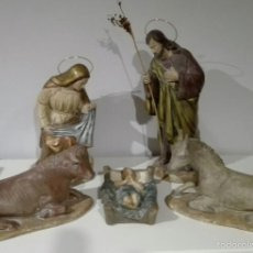 Antigüedades: FIGURAS DE NACIMIENTO, BELEN, PESEBRE, NAVIDAD OLOT. Lote 58656099