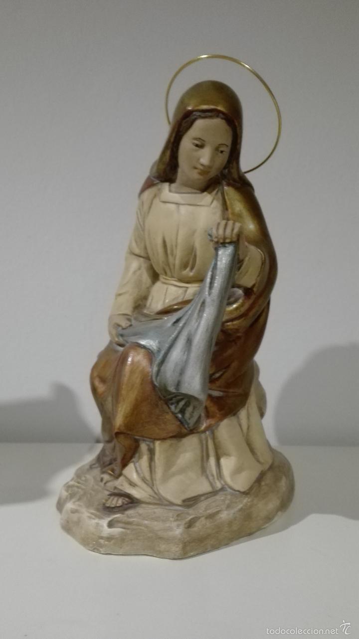 Antigüedades: Figuras de nacimiento, belen, pesebre, navidad olot - Foto 2 - 58656099