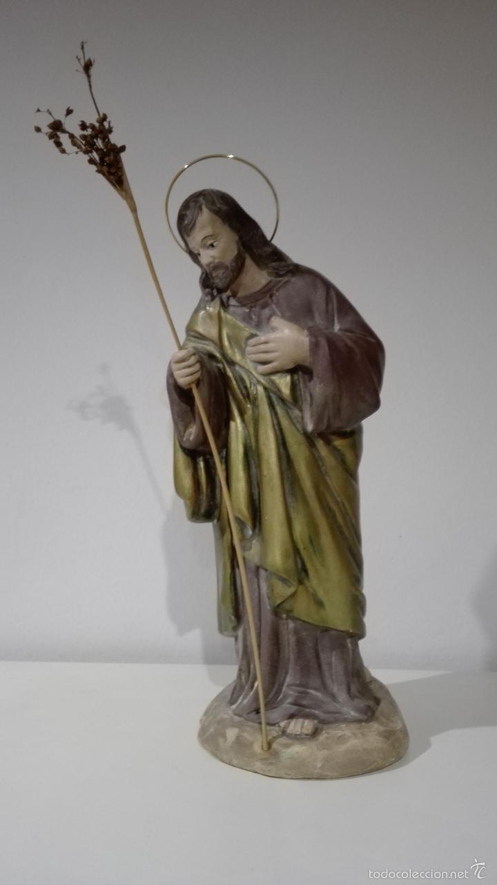 Antigüedades: Figuras de nacimiento, belen, pesebre, navidad olot - Foto 5 - 58656099