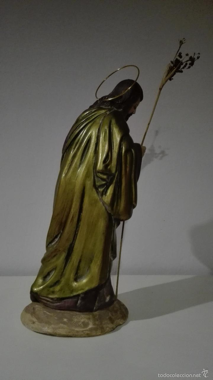 Antigüedades: Figuras de nacimiento, belen, pesebre, navidad olot - Foto 6 - 58656099