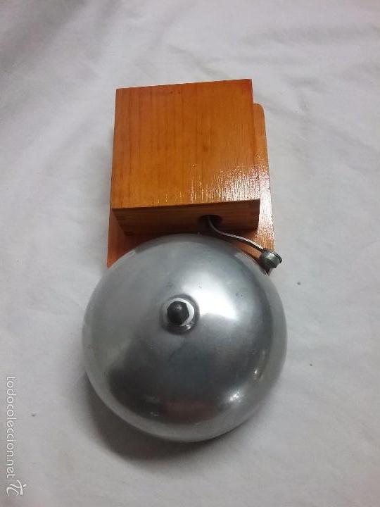 Antiguo timbre de casa de madera vendido en venta directa 58656888 - Timbre de casa ...