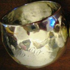 Antigüedades: SERVILLETERO DE PLATA- MUY ANTIGUO. Lote 58656972