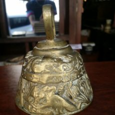 Antigüedades: CAMPANA DE BRONCE . Lote 58665095