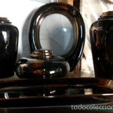 Antigüedades: BONITO JUEGO DE TOCADOR DE PORCELANA. Lote 58667314