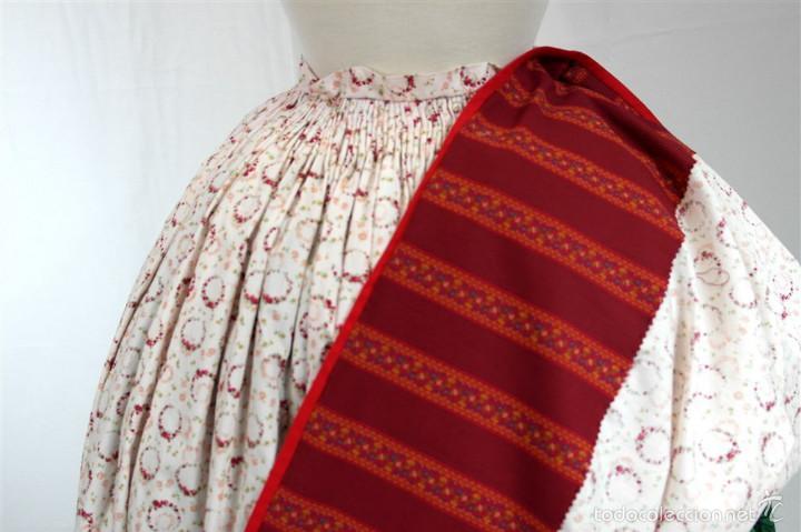 Antigüedades: Saya algodón estampada - Foto 3 - 58679883