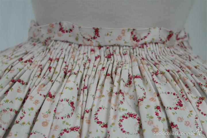 Antigüedades: Saya algodón estampada - Foto 5 - 58679883