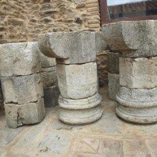 Antigüedades: DOS COLUMNAS OCTOGONALES DEL SIGLO XVII. Lote 58698184