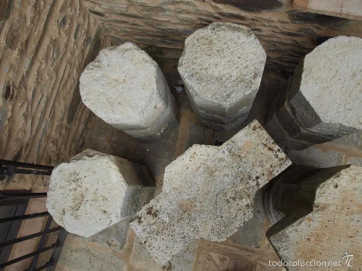 Antigüedades: Dos columnas octogonales del siglo XVII - Foto 2 - 58698184
