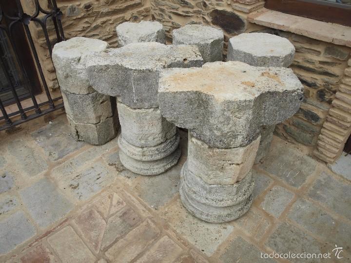 Antigüedades: Dos columnas octogonales del siglo XVII - Foto 3 - 58698184