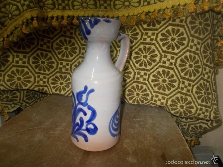 ACEITERA O ALCUZA DE FAJALAUZA (Antigüedades - Porcelanas y Cerámicas - Fajalauza)