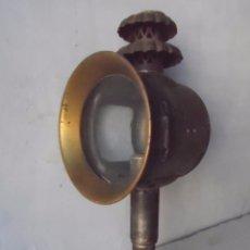 Antigüedades: LAMPARA FAROL MAS DE 100 AÑOS 100 % AUTENTICO (NO REPINTADO) EXCELENTE ESTADO MARCA B LYON. Lote 58715083