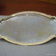 Antigüedades: ANTIGUA BANDEJA DE PLATA ALEMANA. WMF. C1930. . Lote 58728362