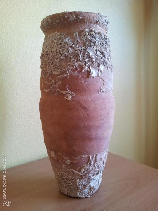 Antigüedades: Antigua popera pulpera nasa trampa terracota CATUFO catalana LA GALERA- TARRAGONA AÑOS 50 - Foto 11 - 58755477