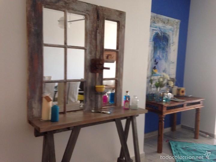 Consola mueble artesanal para recibidor ret comprar - Consola para recibidor ...
