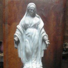 Antigüedades - Virjen viejo Paris porcelana XIX - 58778995