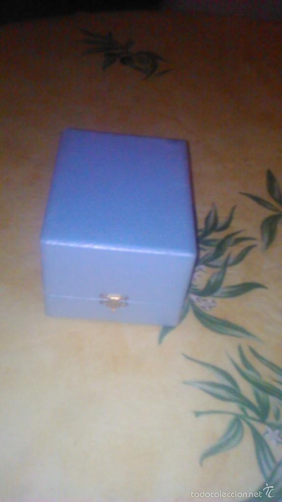 Antigüedades: Precioso vaso bañado en plata w g francia con caja forrada en raso.nombre de jean françois - Foto 2 - 58791046