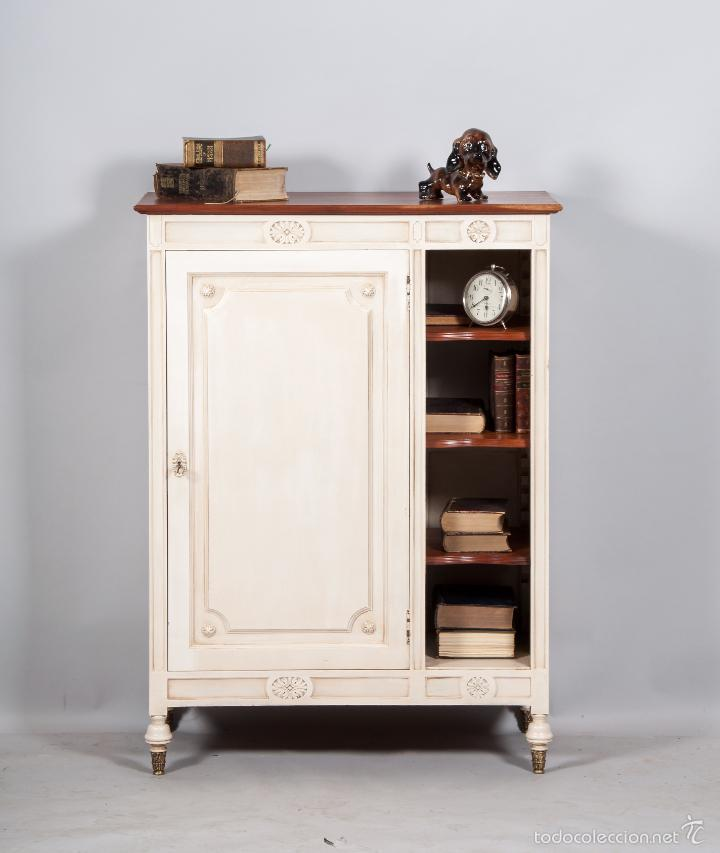 Mueble recibidor recuperado estilo franc s comprar for Muebles estilo frances