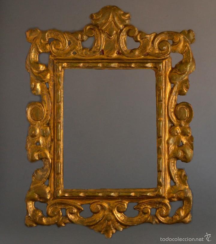 exquisito cuadro marco moldura talla en madera - Comprar Marcos ...