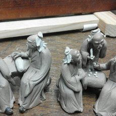 Antigüedades: PAREJA DE PORCELANAS CHINAS . Lote 58878910