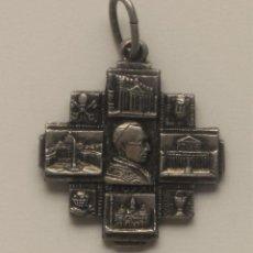 Antigüedades: PRECIOSA MONEDA PIO XII (POR UN LADO) ROMA ITALY A + S S. PETRUS S. FAULUS 1950. Lote 58938535