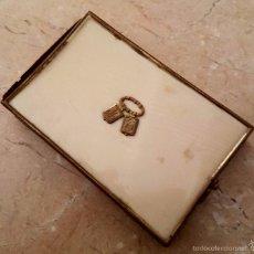 Antigüedades: MAGNIFICO CARNET DE BAILE CON LAS CUBIERTAS EN MARFIL,S. XIX. Lote 58949605