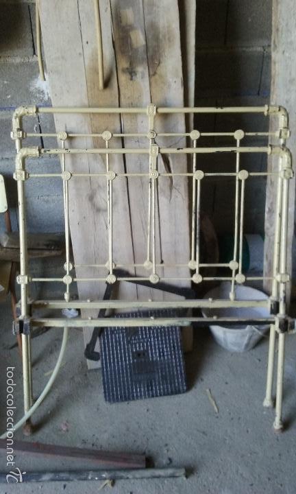 Antigua cama de hierro completa 104 de ancha o comprar camas antiguas en todocoleccion 79991693 - Camas de hierro antiguas ...