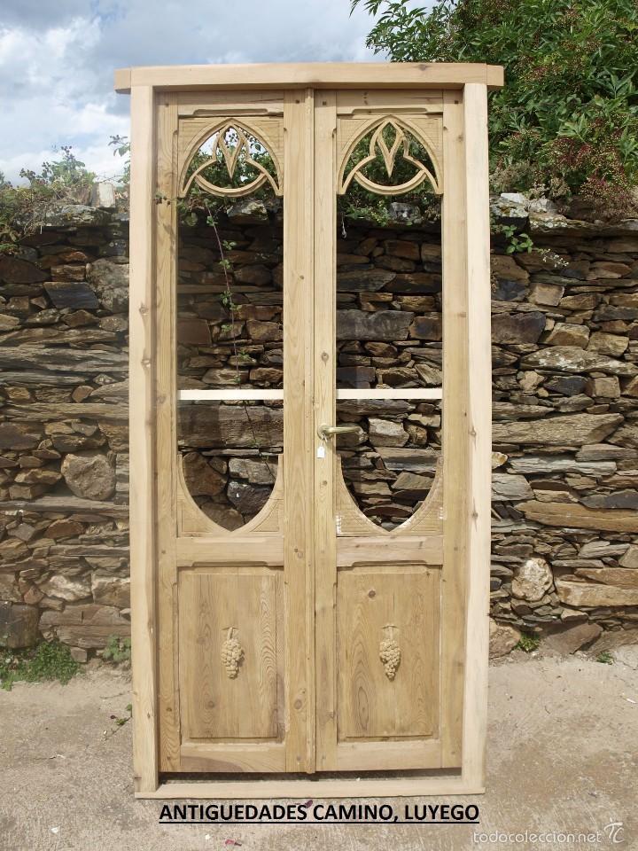 Muy antiguas puertas balconeras talladas comprar - Compro puertas antiguas ...