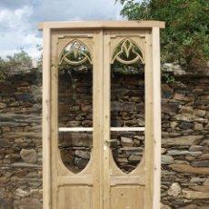 Antiquitäten - Muy antiguas puertas balconeras talladas - 59017590