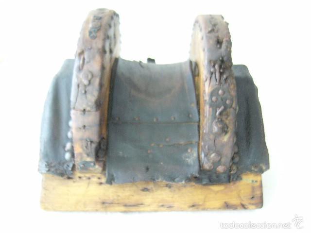 Antigüedades: SILLA DE CARRO O CARGA - Foto 3 - 59028930