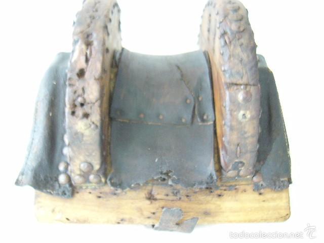 Antigüedades: SILLA DE CARRO O CARGA - Foto 5 - 59028930