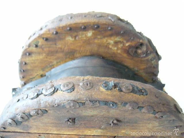 Antigüedades: SILLA DE CARRO O CARGA - Foto 8 - 59028930