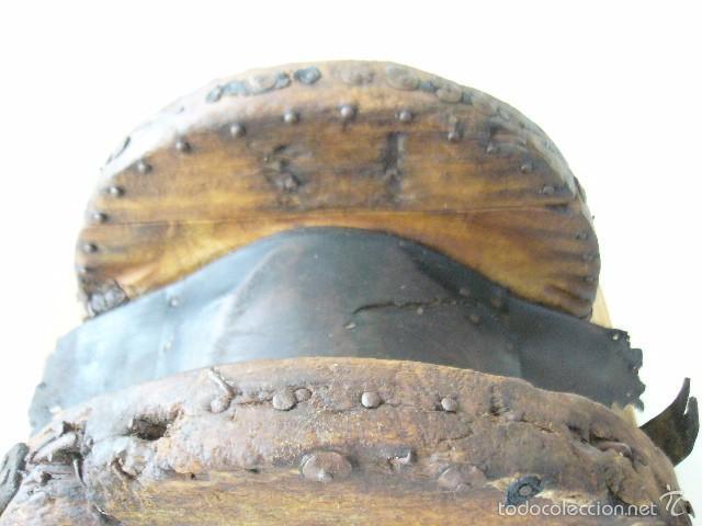 Antigüedades: SILLA DE CARRO O CARGA - Foto 9 - 59028930
