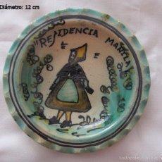 Antigüedades: PLATITO ANTIGUO PUENTE DEL ARZOBISPO FIRMADO . Lote 59070470
