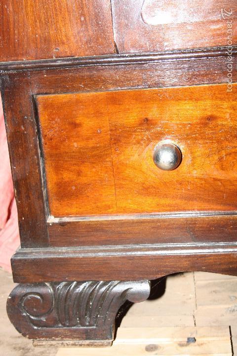 Antigüedades: Armario con espejo. - Foto 5 - 58714885