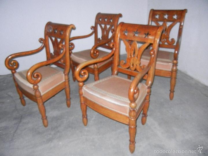 Cuatro sillones madera de fresno comprar sillones for Sillones de madera