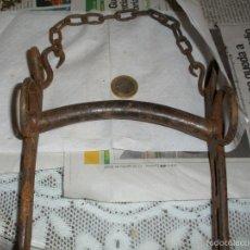 Antigüedades: BOCADO DE CABALLO - SIGLO XIX - HIERRO FORJADO. Lote 59407340