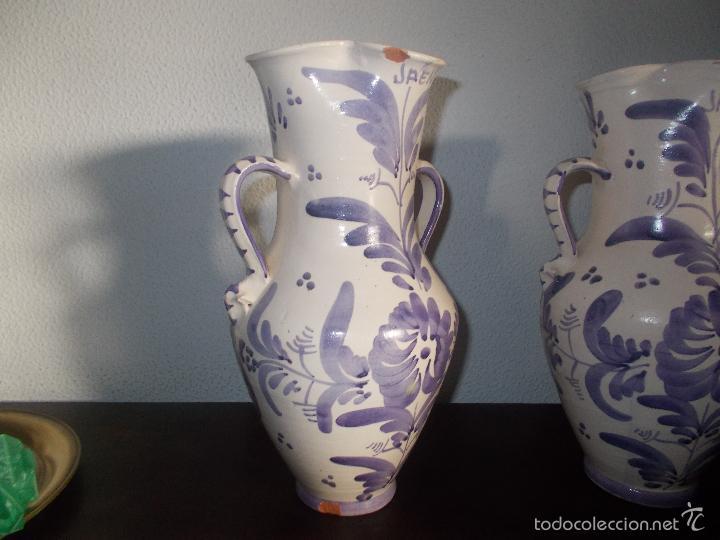 Antigüedades: Pareja de jarras cerámica de la provincia de Jaén - Foto 3 - 59437895